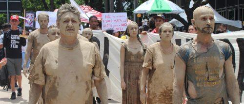 01-02-19 - Atos contra o crime ambiental-humanitário da Vale