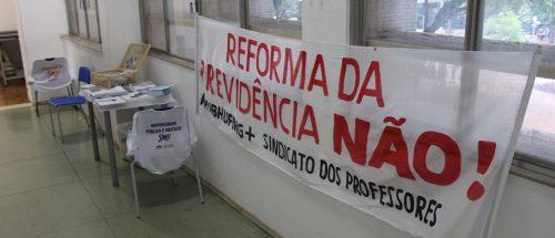 04/04/19 - Debate na Escola de Arquitetura/UFMG: Reforma da Previdência
