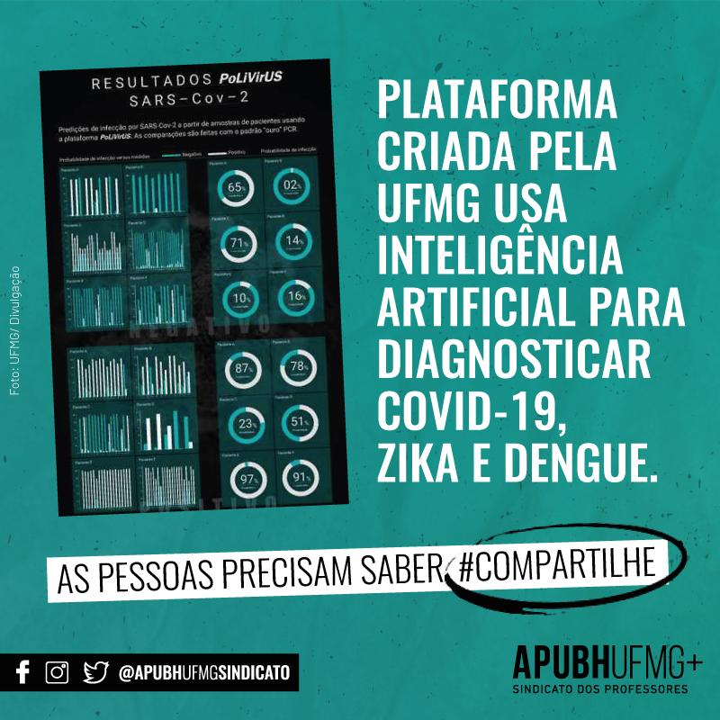 Plataforma criada pela UFMG usa inteligência artificial para diagnosticar COVID-19 Zica e Dengue
